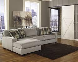 Soft Sectional Sofa Living Room Living Room Furniture L Soft Grey Velvet Fabric Sofa