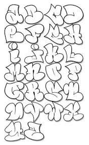 afbeeldingsresultaat voor bubble alfabet bubble writing