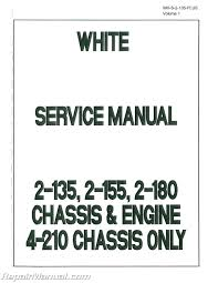 white tractor manuals repair manuals online