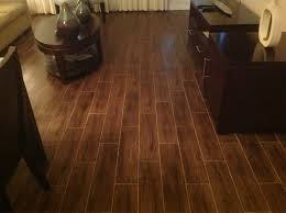 Alternatives To Hardwood Flooring - porcelain tile