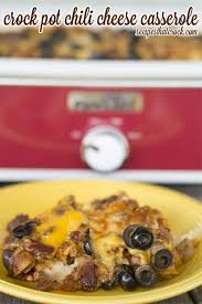crock pot chili cheese casserole recipes that crock