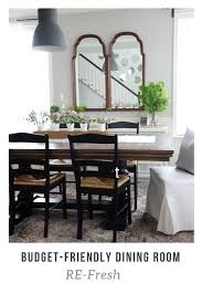 budget friendly dining room