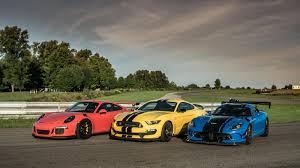 Dodge Viper 2016 - rivals porsche gt3 rs vs ford mustang gt350r vs dodge viper acr