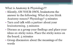 Human Anatomy And Physiology Notes Welcome To Human Anatomy U0026 Physiology Mrs Ppt Download