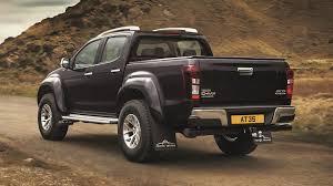 nissan navara customised isuzu d max arctic trucks at35 2016 review by car magazine