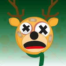 dead reindeer vector image 1536991 stockunlimited