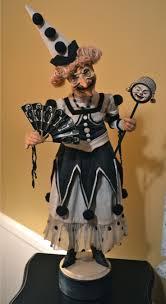 halloween figurines lori mitchell 288 best halloween and autumn art dolls images on pinterest