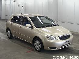 2003 toyota corolla runx gold for sale stock no 46285