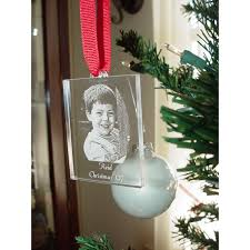 personalized wedding photo christmas ornament enchanted memories