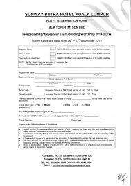 Electrical Resume Hotel Reservation Form Mlm Toper M Sdn Bhd Independent Entrepreneur U2026