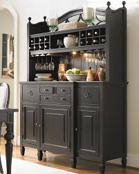 china cabinet custom wine rack in bar area with kegerator and