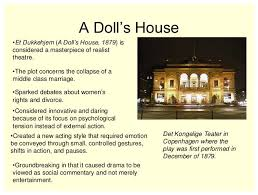 a doll s house play summary estate listings