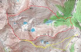 Colorado 14er Map by Otina U0027s Adventures