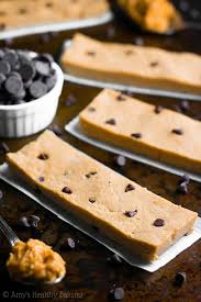 chocolate chip peanut butter protein bars amy u0027s healthy baking
