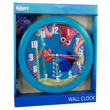 Childrens Bedroom Wall Clocks Disney Pixar Finding Dory Analog Wall Clock Kids Decor