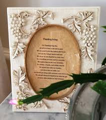 thanksgiving memories poem decorating with coffee table heirlooms daley decor with debbe daley