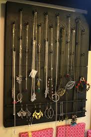 Jewelry Wall Hanger 186 Best Diy Jewelry Displays Images On Pinterest Jewelry
