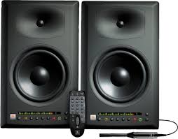 jbl home theater system jbl lsr4328p powered studio monitors zzounds
