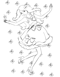 fashion coloring page http coloringcolor com wp content themes coloring pages barbie