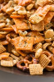 ranch slow cooker chex mix made easy oh sweet basil