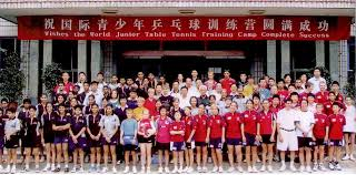 Us Table Tennis Team Lily Yip Table Tennis Summer China Training 2012