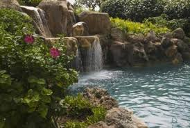 Waterfall In Backyard How Deep Does A Pond Need To Be For A Waterfall Home Guides