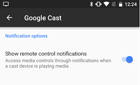 of media that will be how to manage cast media control notifications from chromecast