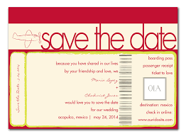 jet setter save the date announcements by invitation consultants