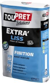 Enduit Ciment Parpaing by Extra Liss Enduit Lisser En Finition Toupret