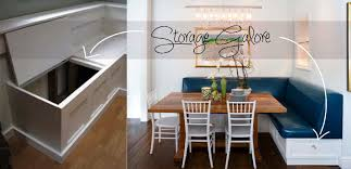 Bench Seating With Storage by Kitchen Banquette Seating Ideas U2014 Cabinets Beds Sofas And