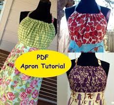 easy pdf apron pattern beginner urban chic zoom