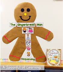 Gingerbread Man Worksheets A Spoonful Of Learning Gingerbread Man