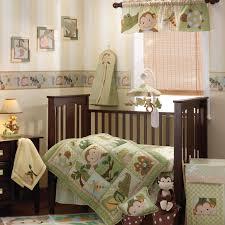 Beige Crib Bedding Set Bedroom Baby Bedding Sets Neutral Gender With Grey Chevron Baby
