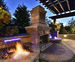 Backyard Fireplaces Ideas Stand Alone Outdoor Fireplace Best Outdoor Gas Fireplace Ideas On