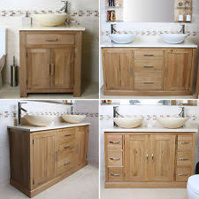 Oak Bathroom Vanity Units Oak Washstand Home Furniture U0026 Diy Ebay