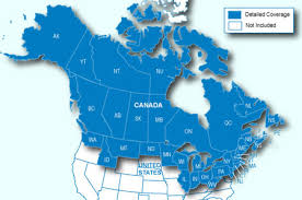 map us states bordering canada map of united states with state border lines vector getty