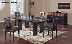 Modern Glass Dining Table Wood And Glass Dining Table Home Design