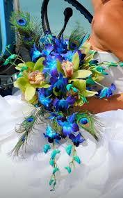 Blue Orchid Flower Terra Flowers Blue Orchid Bouquets Bouquet Wedding Flower