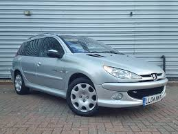 car make peugeot peugeot 206 sw quicksilver 1 4 5dr 2004 for sale aspinall cars