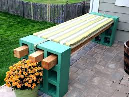 quick and easy outdoor bench large image for diy wood fire pit