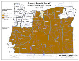 Oregon County Map by Oregon Governor Declares Drought Emergency In Sherman County