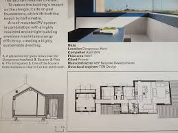 Eco Home Plans Pobble House Plan And Section From Aj Guy Hollaway Architects