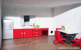 meuble cuisine diy diy fabriquer des meubles pour maison playmobil dessine moi un prénom