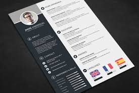 professional resume cv template saneme