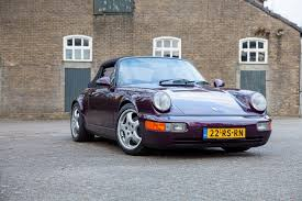porsche sedan convertible l c c porsche 964 cabriolet tip tronic lieshout car collection