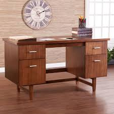 Modern Desks With Drawers Caign Mid Century Modern Desk Luxurious Furniture Ideas