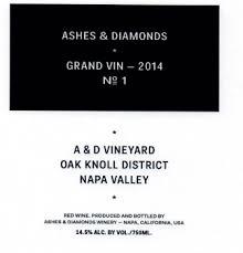 ashes to diamonds grand vin a d vineyard ashes diamonds skurnik wines