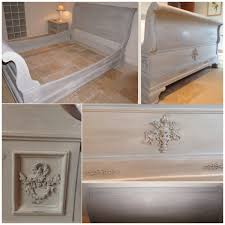 best 25 sleigh bed painted ideas on pinterest cherry sleigh bed
