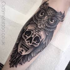 owl tattoos design 58 best skull owl tattoos collection