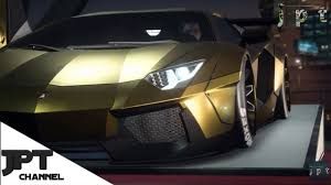 lamborghini golden need for speed payback stolen lamborghini golden car gameplay